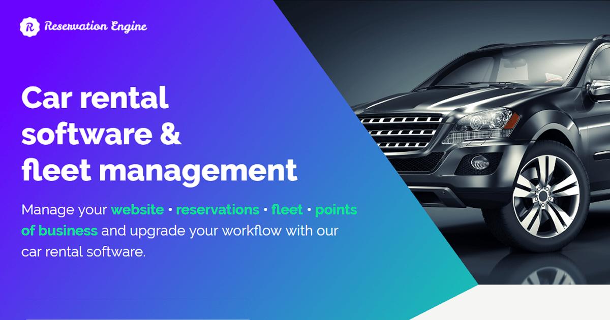 Car Rental Software & Fleet Management | Workadu